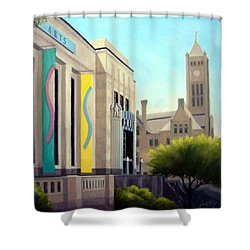 The Frist Center Shower Curtain by Janet King