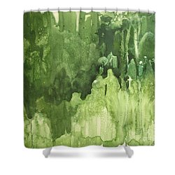 The Gathering Shower Curtain by Elizabeth Carr