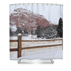 The Gentle Thief Of Colours Shower Curtain by Eric Glaser