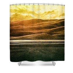 The Great Sand Dunes Shower Curtain by Brett Pfister
