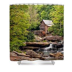 The Grist Mill Shower Curtain by Steve Harrington