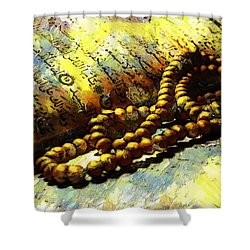 The Holy Quran Shower Curtain by Catf