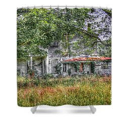 The House In The Woods Shower Curtain by Dan Stone