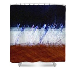 The Leapers Shower Curtain by Kume Bryant