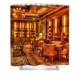 The Library Shower Curtain by Heidi Smith