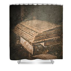 The Light Of Knowledge Shower Curtain by Loriental Photography