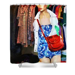 The Model Shower Curtain by Steve Taylor