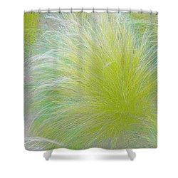 The Nature Of Grass   Shower Curtain by Ben and Raisa Gertsberg