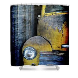 The Ol Chevy Shower Curtain by Ernie Echols
