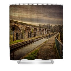 The Old Aqueduct Shower Curtain by Adrian Evans