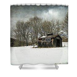 The Old Sugar Shack Shower Curtain by Edward Fielding