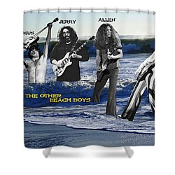 The Other Beach Boys Shower Curtain by Ben Upham