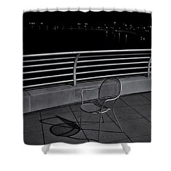 The Outcast Shower Curtain by Trever Miller