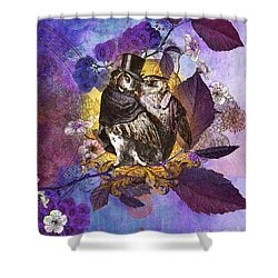 The Owlsleys Shower Curtain by Aimee Stewart