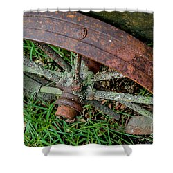 The Patina Of Time Shower Curtain by Rene Triay Photography