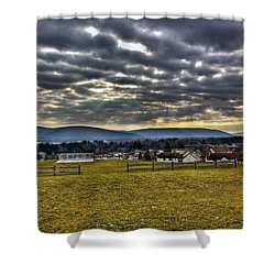 The Perfect View Shower Curtain by Tim Buisman