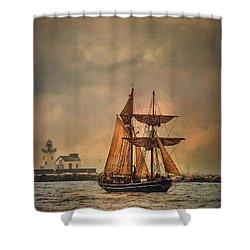 The Playfair Shower Curtain by Dale Kincaid