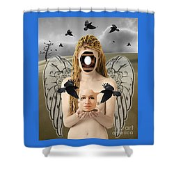 The Rebirth Shower Curtain by Keith Dillon