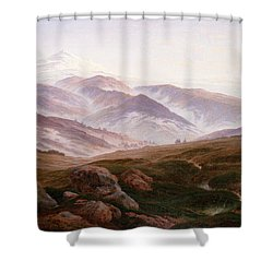 The Riesengebirge  Shower Curtain by Philip Ralley