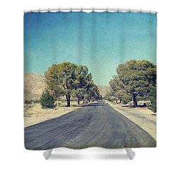 The Roads We Travel Shower Curtain by Laurie Search