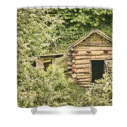 The Root Cellar Shower Curtain by Heather Applegate