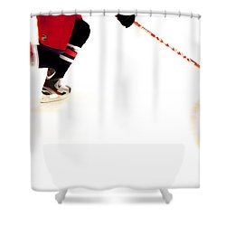 The Rush Shower Curtain by Karol Livote
