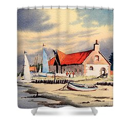 The Sailing Club  Shower Curtain by Bill Holkham