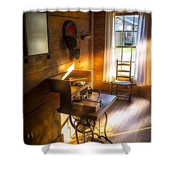 The Sewing Room Shower Curtain by Marvin Spates