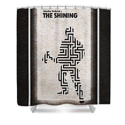 The Shining Shower Curtain by Ayse Deniz