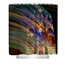 The Spirit Of The Saints Shower Curtain by Kathleen K Parker