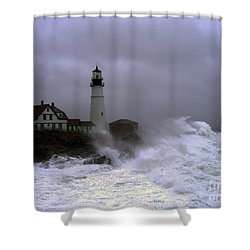 The Storm Shower Curtain by Lloyd Alexander