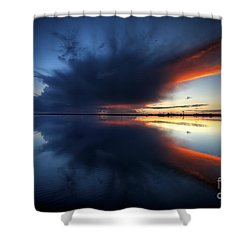 The Storm Shower Curtain by English Landscapes