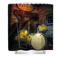 The Tonic Tavern Shower Curtain by Scott Norris