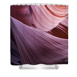 The Veil At Antelope Canyon Shower Curtain by Alex Cassels