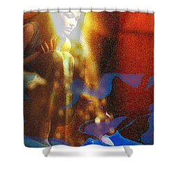 The Vision Shower Curtain by Seth Weaver