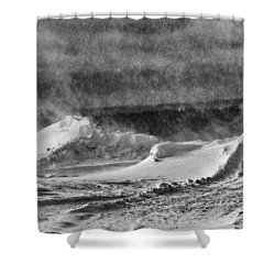 The Way Life Should Be Shower Curtain by Susan Capuano