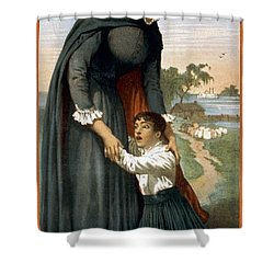The White Slave Shower Curtain by Aged Pixel