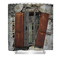 The Window Shower Curtain by Debra and Dave Vanderlaan