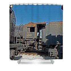 The Yards Shower Curtain by Skip Willits