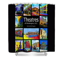 Theatres Of Washington Dc Shower Curtain by Jost Houk