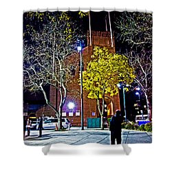 Thinking About Past Glory Shower Curtain by Tom Gari Gallery-Three-Photography