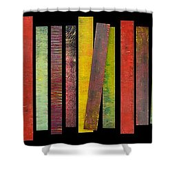 Thirty Stripes 1.0 Shower Curtain by Michelle Calkins