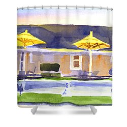 Three Amigos IIi Shower Curtain by Kip DeVore