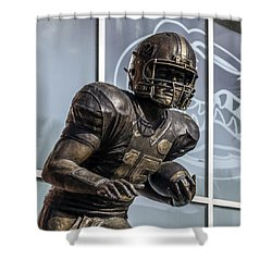 Tim Tebow Uf Heisman Winner Shower Curtain by Lynn Palmer