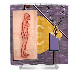 Time Running Out Shower Curtain by Patrick J Murphy