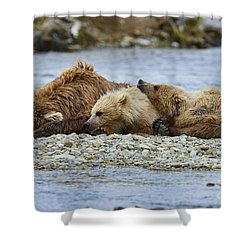 Time To Relax Shower Curtain by Dan Friend