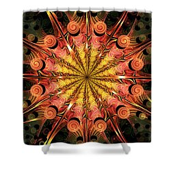 Timeless Shower Curtain by Anastasiya Malakhova