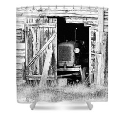 Time's Passing Shower Curtain by Heiko Koehrer-Wagner