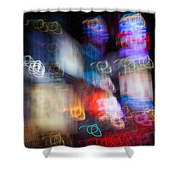 Times Square Shower Curtain by Dave Bowman