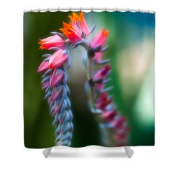 Tiny Beauty Shower Curtain by Sebastian Musial